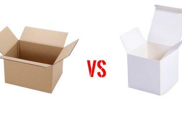 ความแตกต่างระหว่างกล่องสำเร็จรูปและกล่องลูกฟูก